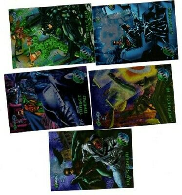 Batman Forever Trading Cards 1995. 57 cards in all. Great condition.