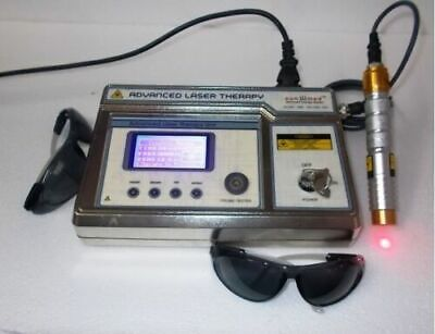 NEW COMPUTERISED LOW-LEVEL-LASER-THERAPY-Management Probe MACHINE @6h