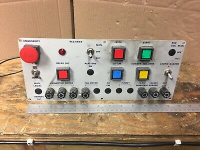 Cinemeccanica Control  Panel For Victoria Vic 5  35mm Film Projector
