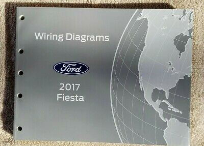 2017 Ford Fiesta OEM Factory Wiring Diagrams Schematics Manual FCS2111417