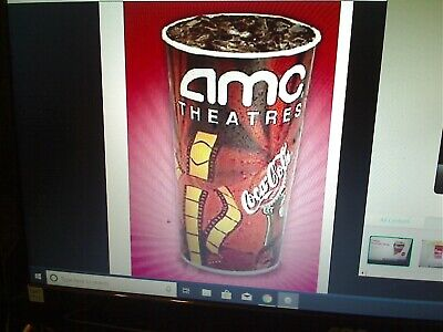 AMC Theatres 1 Large Fountain Drink Theater Coke  Expires 12/31/2020  E-Delivery