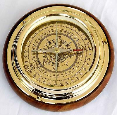 "Nautical Brass Navigational/ Magnetic Compass 6"" Sailing Ship/Boat Compass"