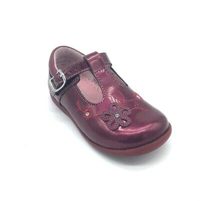 Start-rite Sunflower Girl's Shoes Berry Patent Leather 55% OFF RRP