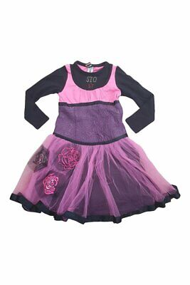 SAVE THE QUEEN Cotton Blend Tulle Skirted Dress (6 Yrs)