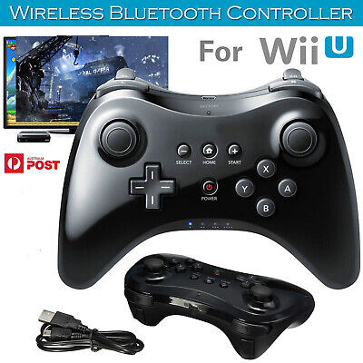 For Wii U Pro Controller Bluetooth Wireless Remote Controle For WiiU Pro Gamepad