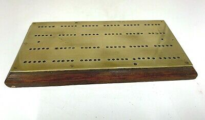 Antique Brass Crib Board circa 1890
