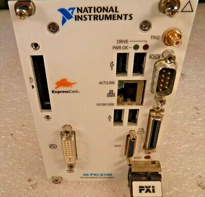 National Instruments PXI-8106 Dual Core PXI Embedded Controller (2.16 GHz) #2