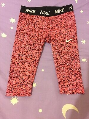 Girls Kids Nike Capri Leggings Size 6-7 Years