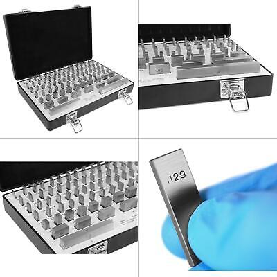 rectangular steel gauge block set with case (81-piece) | wen 10481 hand tool