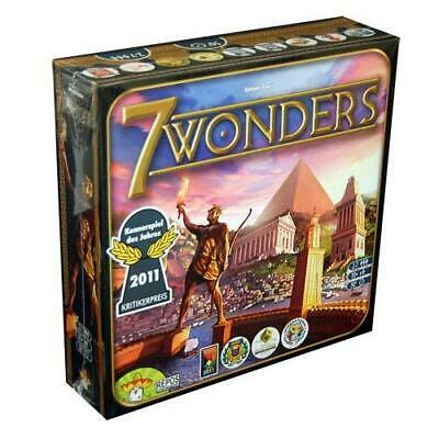 7 Wonders Strategy Board Game Multicolor (Free Shipping)