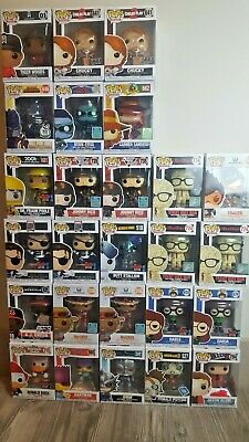 Funko Pop! Lot (Mostly Exclusives some Vaulted and Chase Pop! too)