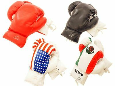 Kids 10 Oz Style Faux Leather Boxing Gloves SPARRING YOUTH PRACTICE TRAINING MMA