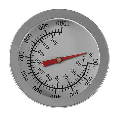 10-1000℉ Stainless Steel BBQ Thermometer Temperature Gauge 50-500ºC