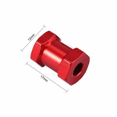 4pcs 12mm Hex 15mm Coupler Tire Extended Adapter for Traxxas Hsp Redcat S2Z8