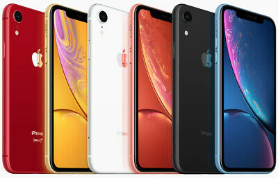 Apple iPhone XR Smartphone |64GB 128GB| AT&T Sprint T-Mobile Verizon or Unlocked