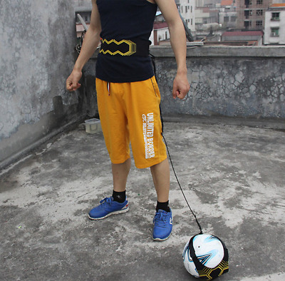 New Football Soccer Training Practice Belt Skills Trainer Aid Self Equipment Aid