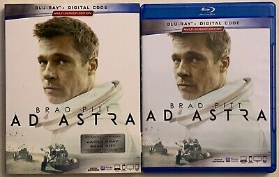 Ad Astra Blu Ray + Slipcover Sleeve Free World Wide Shipping Buy It Brad Pitt