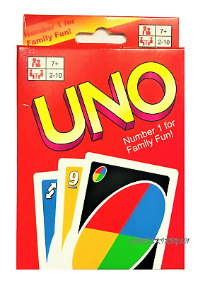 UNO Flip Card Wild UK New Game Fun CARDS Family Version with Sealed GIFT PARTY
