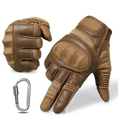 Touch Screen Hard Knuckle Tactical Gloves Outdoor Climbing Full Finger Mittens