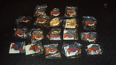 18 Planet Hollywood, Pin Backs, 2 Are Keychanes, 17 New