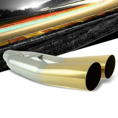"""Megan Universal 3/"""" VIP Dual Exhaust SS Tip /""""Blast Pipes/"""" Style weld-on Straight"""
