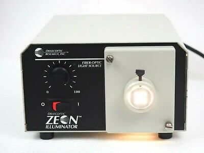 Orascoptic Zeon Illuminator Fiber Optic Dental Medical Light Working
