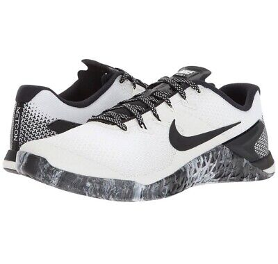 Nike Metcon 4 Mens Crossfit Training Shoe White Black Sail AH7453 101 pick size