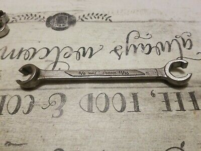 """Vintage Herbrand 1327 - 5/8"""" x 11/16""""  Flare Nut Wrench"""