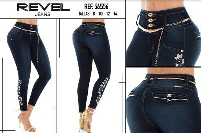 REVEL, Jeans Colombianos, Authentic Colombian Push Up Jeans,Levanta Cola,