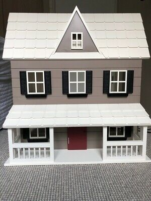 Pottery Barn large wooden doll house - EXCELLENT condition