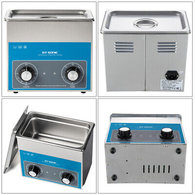 2L 3L 6L Ultrasonic Cleaner Timer Heater Stainless Steel Cleaning Tank Machine