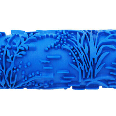 5/'/' Embossed Pattern Paint Roller Wall Art Texture Stencil Brush Decor #10