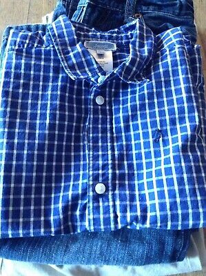 LOT Of 3 Boys Size 6 Clothing JACADI, POLO LAUREN Shirt, Chinos & Jeans
