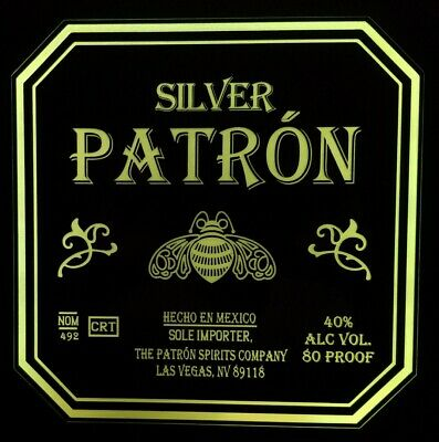 Patron Tequila LED Sign  Home bar pub Sign, Lighted Sign