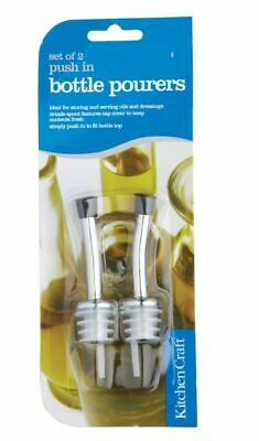 Kitchencraft Bottle Pourer Spouts Pack 2