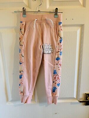 Pink Floral Mckenzie Sports Joggers Age 5/6 (3682) Jogging Bottoms