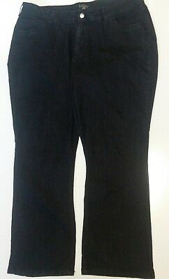"""Riders by Lee Womens Casual Dress Pants 22 Jeans Waist 44"""" Inseam 30"""""""