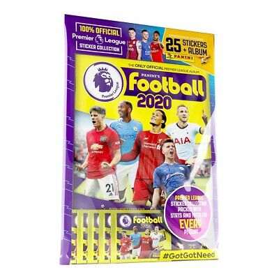 Panini's Football 2020 Premier League Stickers Starter Pack