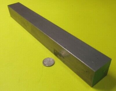 """Square 4140/4142 Steel Bars, 1 3/8"""" (- 0.006"""") x 1 3/8"""" Wide x 12"""" Length"""