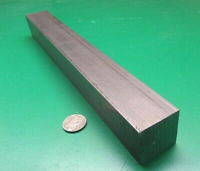 """Square 1018 Steel Bar, 1 3/8"""" Thick x 1 3/8"""" Wide x 12"""" Length"""