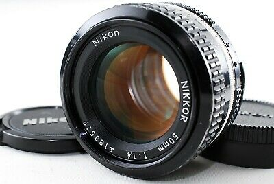 Excellent++ Nikon Ai NIKKOR 50mm F1.4 MF Lens from Japan A991