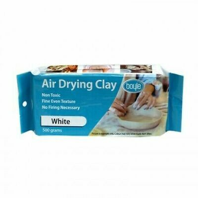 Boyle White Air Drying Clay 500gm