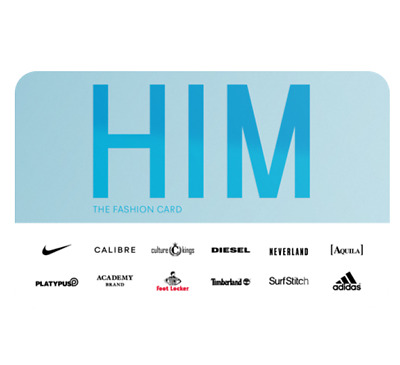 Gift Card for Him - Email Delivery