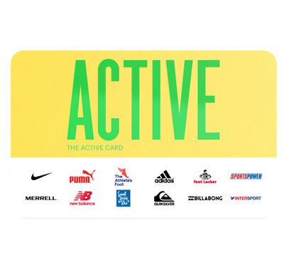 The Active Gift Card - Email Delivery