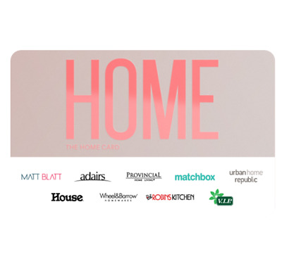The Home Gift Card - Email Delivery