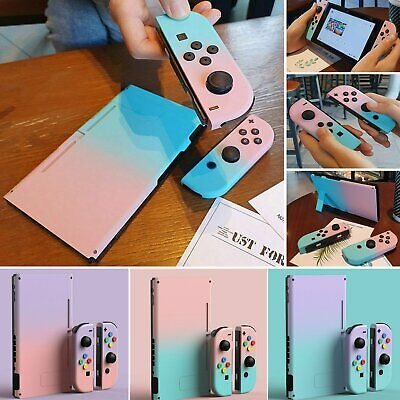 Housing Shell Case Back Cover Kit For Nintendo Switch Joy-Con Console Controller