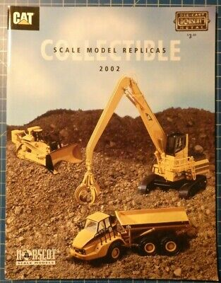 NORSCOT Scale Model Replicas CAT Collectible Katalog H5342