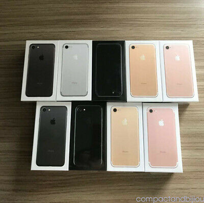 Apple iPhone 7 32GB 128GB 4G Factory Unlocked Smartphone All Colour Grade Sealed