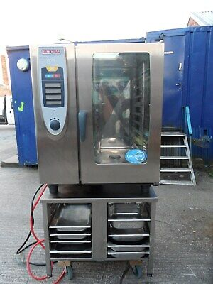 Rational Self Cooking Centre Scc101 Combination Oven. 10 Grid Oven. 3 Phase.
