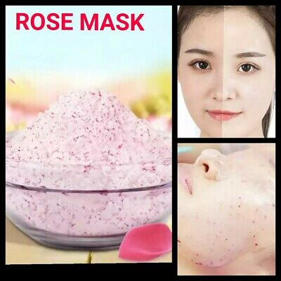 Dark Spots Scar Removal Pure Rose Hydrating Organic Face Mask Skin Glowing